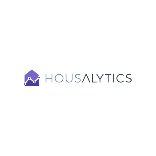 Premium logo with the title 'Logo for Real Estate Analytics Tool'