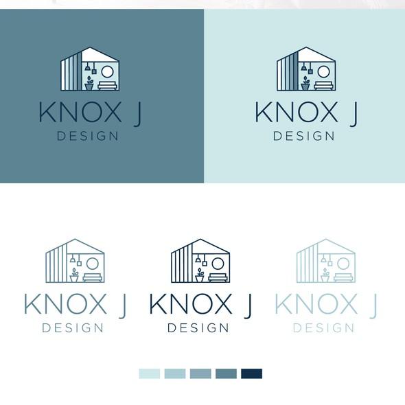 Home decor design with the title 'Logo design for interior designer '