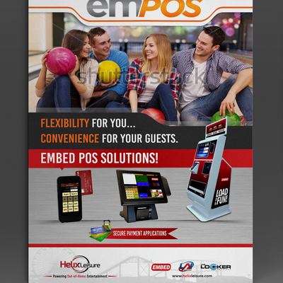 Cool Trade Show Graphic for EMPOS