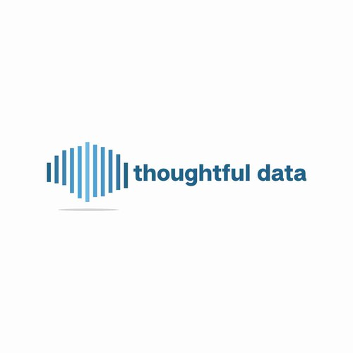 Inspiring logo with the title 'Data Analysis Inspiring Logo'