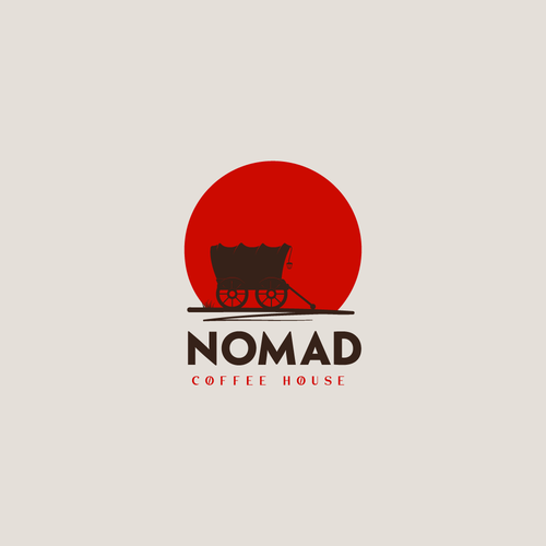 Nomad logo with the title 'Nomad Coffee House'