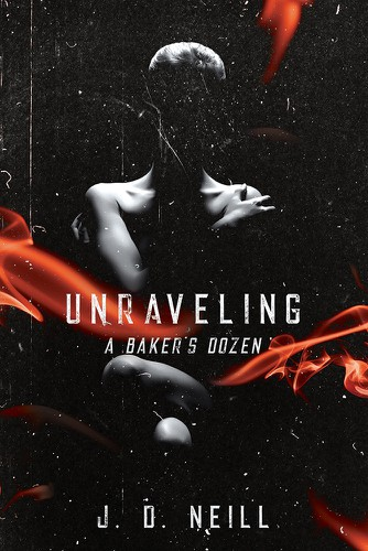 """Feminine design with the title 'Book Cover for """"Unraveling"""" Book'"""