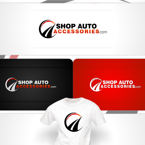 Road logo with the title 'New logo wanted for ShopAutoAccessories.com'