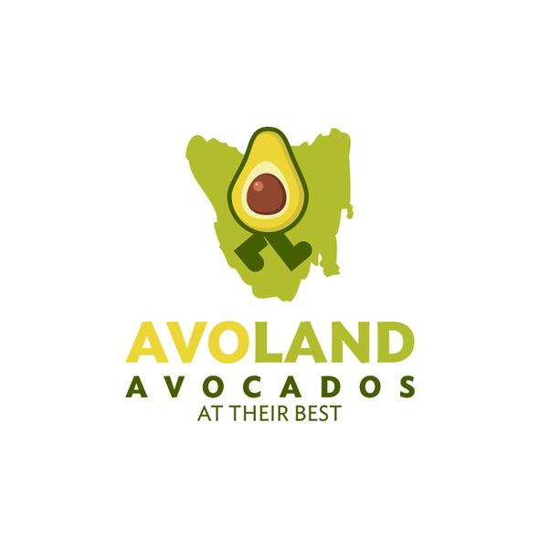 Tasmanian logo with the title 'Logo for a Tasmania's first commercial avocado farm'