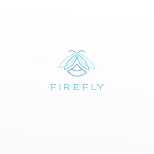 Firefly logo with the title 'Simple and memorable logo for a fashion company'