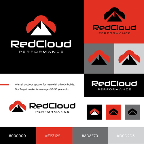 Cool logo with the title 'RedCloud'