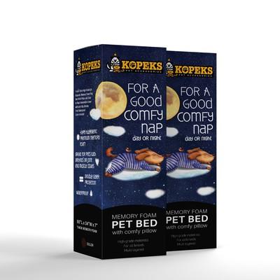 Kopeks Premium memory foam pet bed