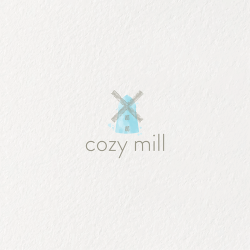 Mill logo with the title 'Logo for a blanket company'