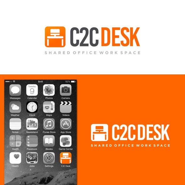 Desk logo with the title 'c2c Desk'