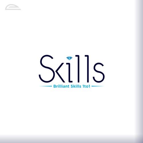 Brilliant design with the title 'Brilliant Skills'