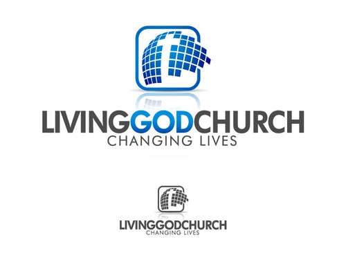 Plus logo with the title 'LivingGodChurch'