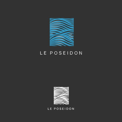 Pictogram design with the title 'Le Poseidon'