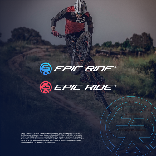 Bike brand with the title 'Epic Ride'