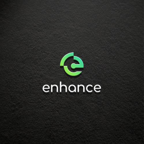 Signal logo with the title 'simple logo for enhance'