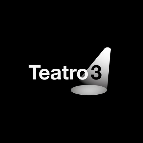 Helvetica logo with the title 'Teatro3 - a modern theatre group'