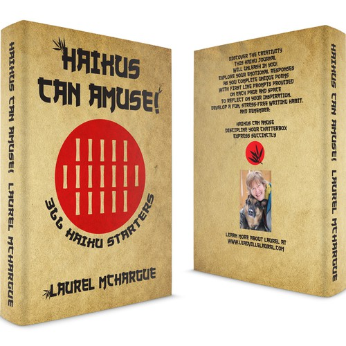 Japanese book cover with the title 'Haikus Can Amuse!'
