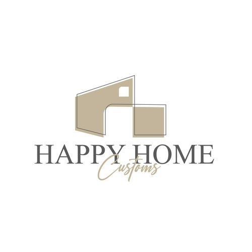 Custom brand with the title 'Luxury design for personalized home decor - Logo'