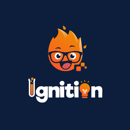 Fire logo with the title 'Ignition'