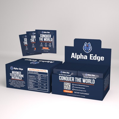 Product packaging for Alpha Edge