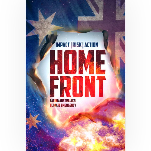 Emergency design with the title 'Home Front'