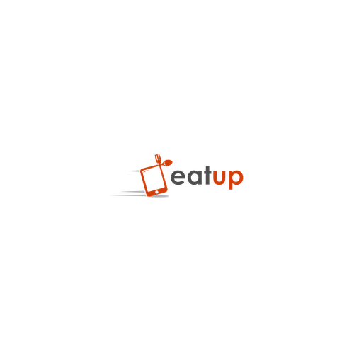 Logo with the title 'eatup'