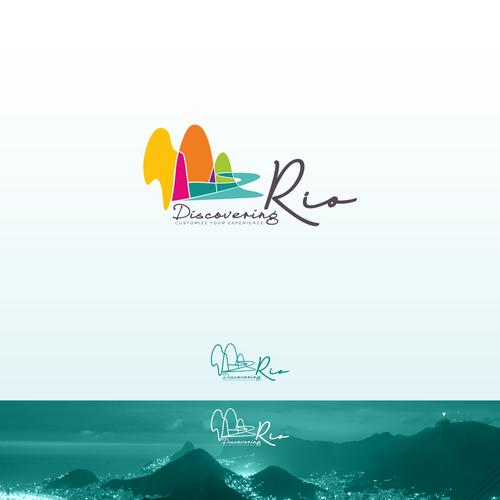 Passion logo with the title ' Rio de Janeiro Travel Guides Logo'