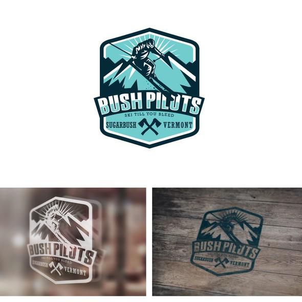 Keyboard logo with the title 'Bush Pilot'