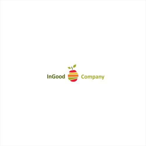 Fresh food logo with the title 'IN GOOD company logo'