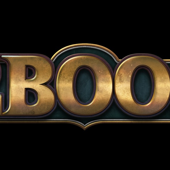 Texture logo with the title 'D2Boost Logo Design'