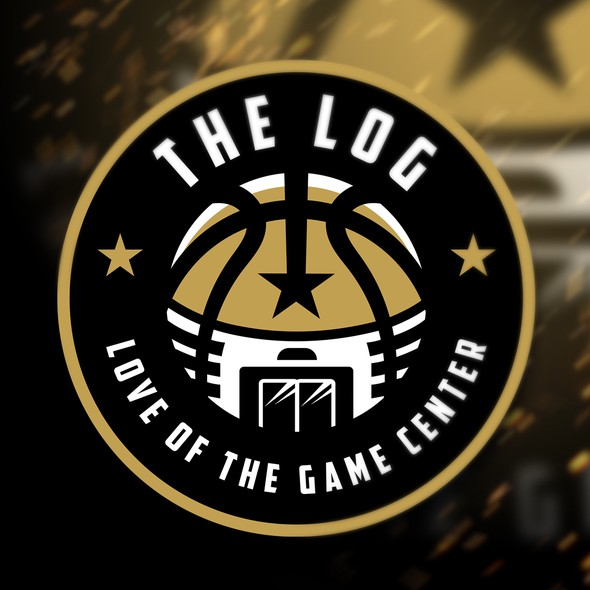 Facility logo with the title 'The LOG Love of The Game Center'