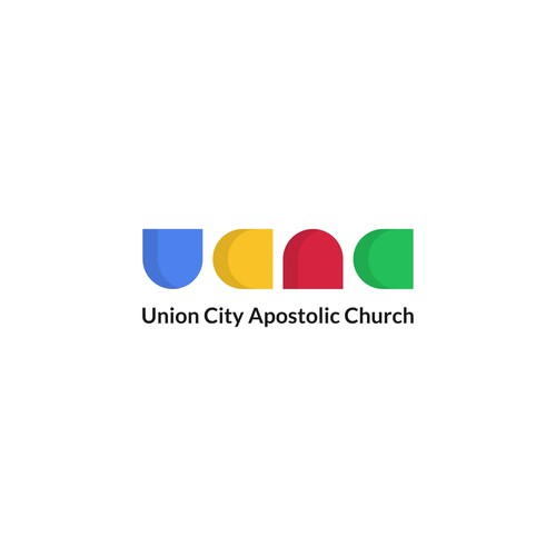 City brand with the title 'Union City Apostolic Church'