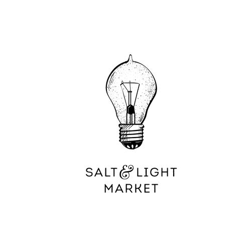 Salt design with the title 'logo design'