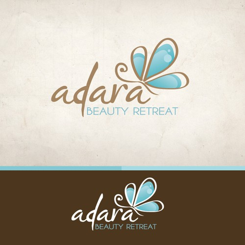 Spa logo with the title 'Create the next logo for Adara Beauty Retreat'