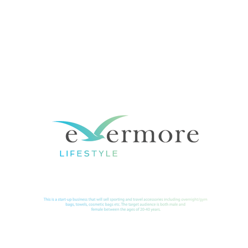 Freedom logo with the title 'evermore lifestyle'