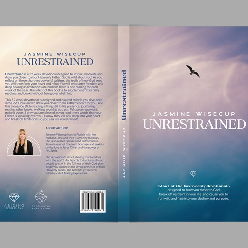 Meditation design with the title 'Book design on devotional methods'