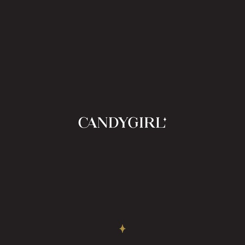 Lingerie logo with the title 'Candygirl'