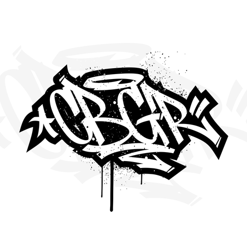 Graffiti logo with the title 'graffiti logo'