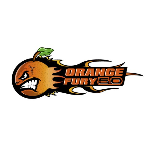 Speed logo with the title 'Great world war 2 plane like styled orange that is lighting up pavement '
