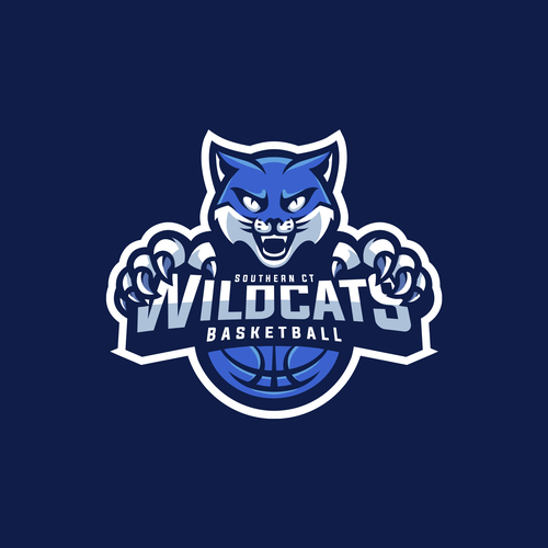 Wildcat logo with the title 'Cat Sport Logo'