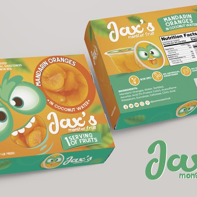 Packaging Design Kids Fruit Cup