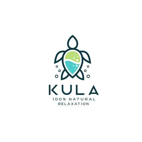 Relaxation design with the title 'KULA DRINK'