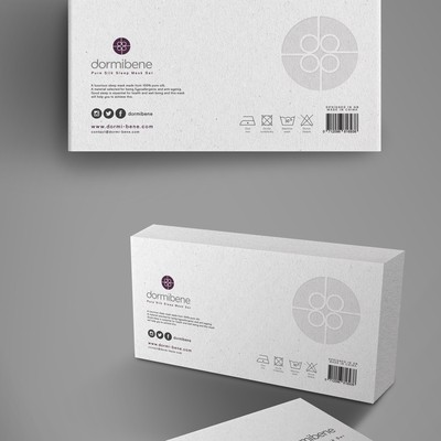 Modern/luxury packaging for  Silk Sleep Mask