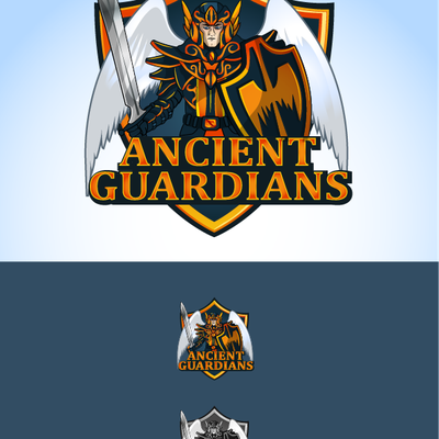 Ancient Guardians logo sketch