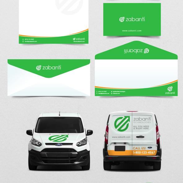 Vehicle logo with the title 'Create a logo like we were a big known International company'