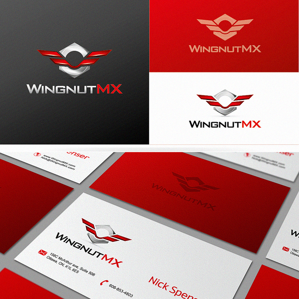 Wing logo with the title 'Wingnut MX needs a new logo'