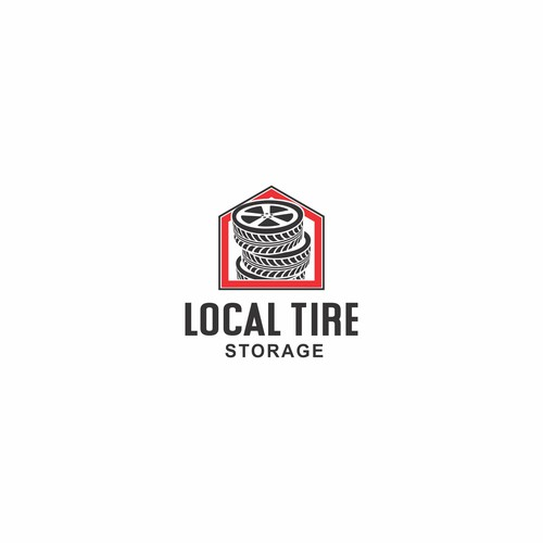 Road brand with the title 'Local Tire Storage'