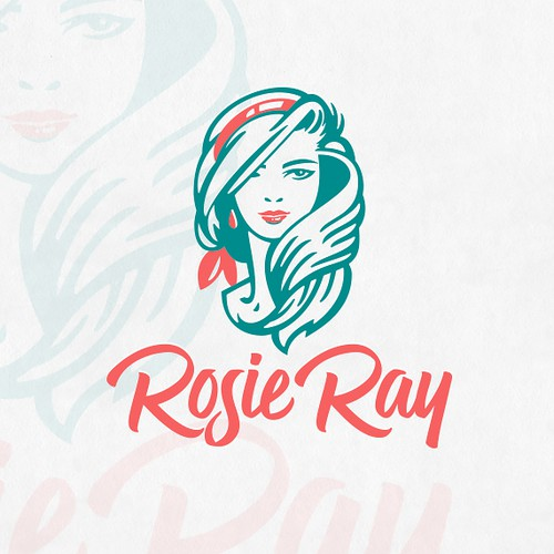 Custom design with the title 'Rosie Ray logo proposal'