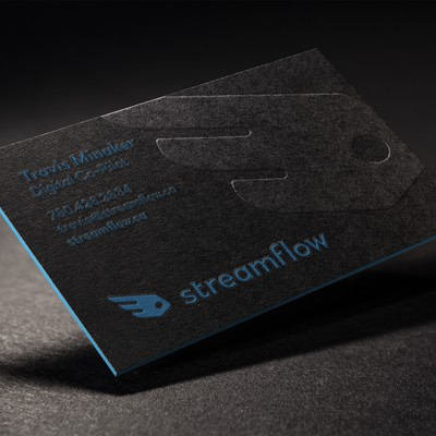 Business Card Design For Streamflow