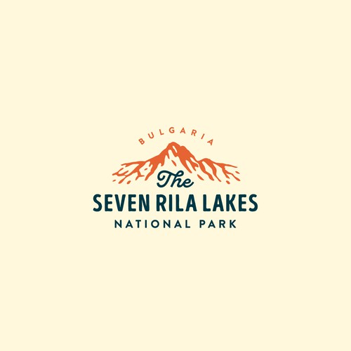 Lake logo with the title 'The Seven Rila Lakes'