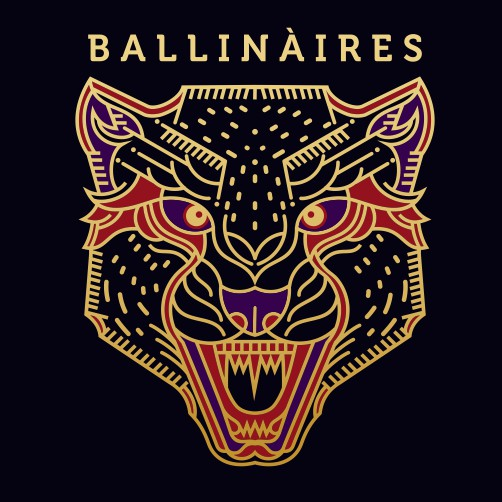 Badass t-shirt with the title 'BALLINAIRES'